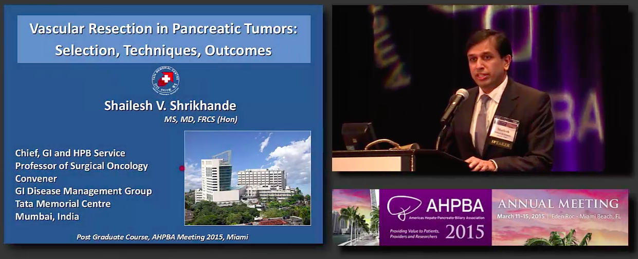 Post Grad Course: Treatment of HPB Malignancies: Pancreas; #1 Shrikhande