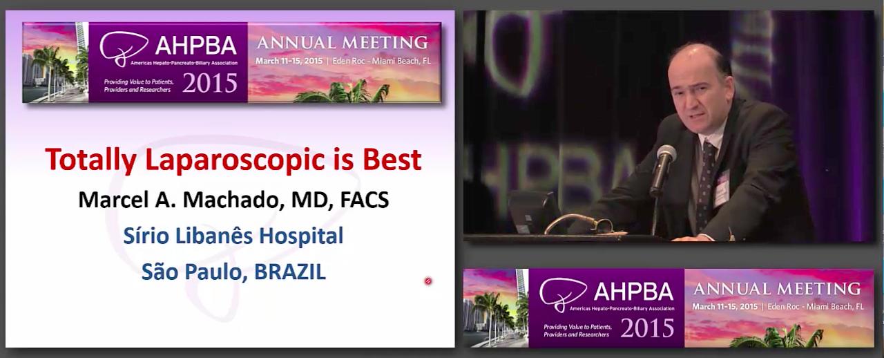Debate: Totally Laparoscopic vs Hybrid MIS Liver Surgery, Machado