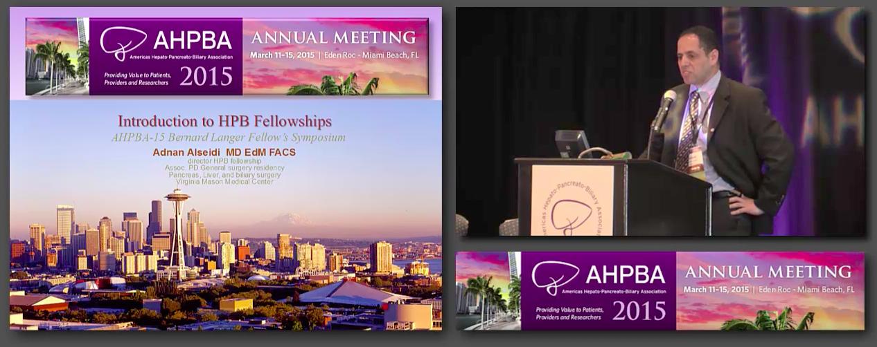 Bernard Langer Symposium: Considering an HPB Fellowship; Residents Guide, #2 Alseidi