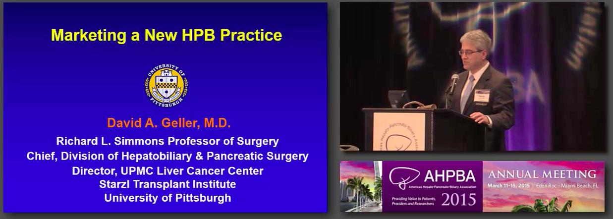 Bernard Langer Symposium: Career Development for the New HPB Surgeon #4 Geller