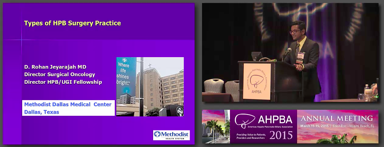 Bernard Langer Symposium: Career Development for the New HPB Surgeon #2 Jeyarajah