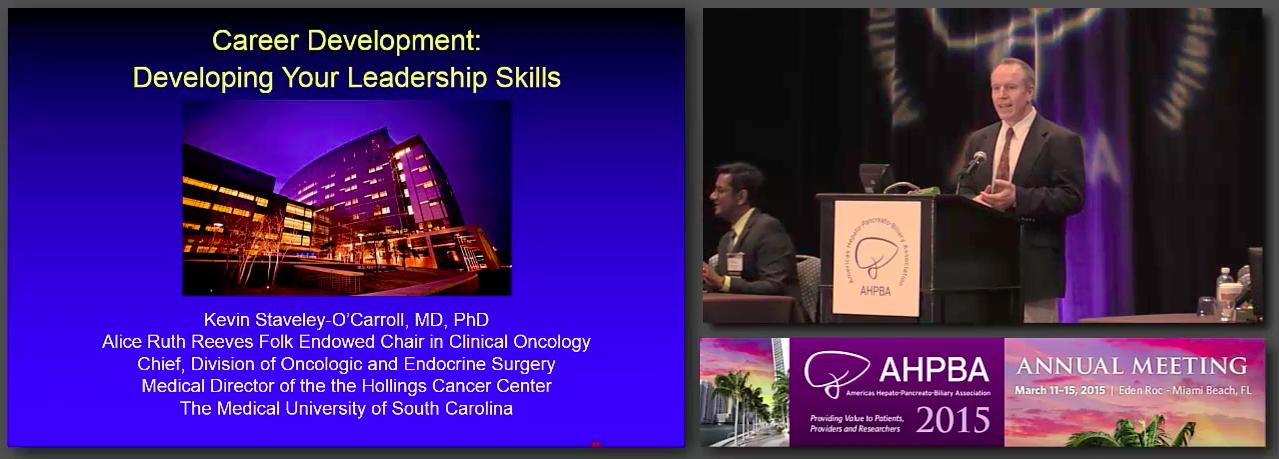 Bernard Langer Symposium: Career Development for the New HPB Surgeon #3 O'Conner